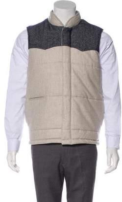 Cuisse de Grenouille Wool Zip Vest