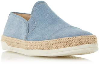 Roberto Vianni LADIES ESTER - Espadrille Trim Slip On Shoe