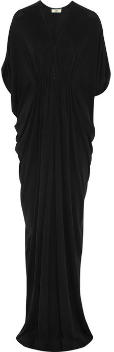 Issa Silk-crepe gown