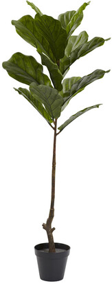 Nearly Natural 4 Fiddle Leaf Tree Uv Resistant
