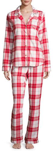 UGGUGG Raven Cotton Plaid Pajama Set