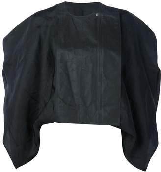 Rick Owens short 'Debussy' biker jacket