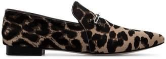 Newbark Julia Leopard Print Loafers