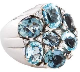 Carla Amorim 18K Aquamarine & Diamond Ring