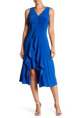 Taylor Ruffled Front Ruched Dress