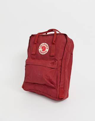 Fjallraven Kanken Backpack In Red