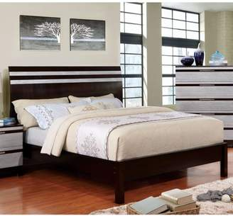 Furniture of America Lakewood II Contemporary Espresso Bed, Multiple Sizes