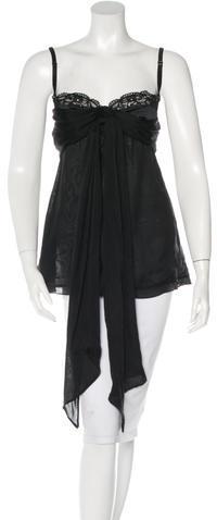 Dolce & GabbanaD&G Silk Halter Top