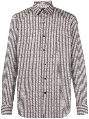 Prada striped print shirt