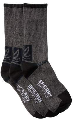 Sperry All Season Boot Crew Socks - Pack of 3