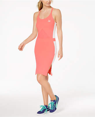 Puma Archive T7 Strappy-Back Bodycon Dress