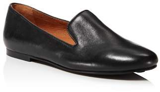 Kenneth Cole Gentle Souls by Gentle Souls Women's Eugene Leather Smoking Slipper Flats