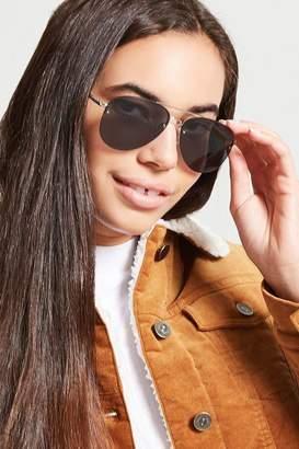 Forever 21 Metal Aviator Sunglasses