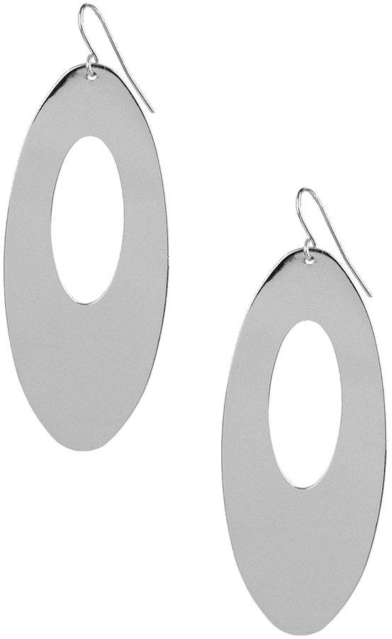 Oval Cutout Earrings