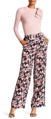 Ted Baker Crane Patterned Wide Leg Pants
