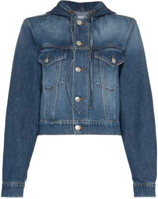 Ganni Denim Hooded Jacket