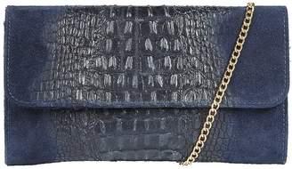 Kaleidoscope Italian Leather Clutch Bag