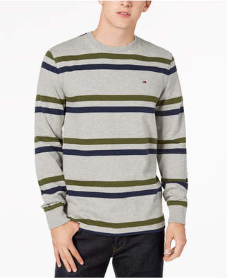Tommy Hilfiger Men's Long-Sleeve Striped Shirt, Created for Macy's