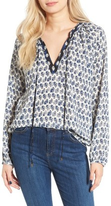 Women's Wayf Mixed Print Top $59 thestylecure.com