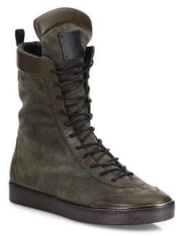 Giuseppe Zanotti Giuseppe x Zayn Jaavad High-Shaft Leather Blend Boots