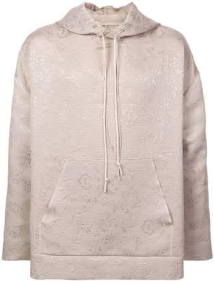 Camiel Fortgens floral pattern hoodie