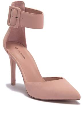 Call it SPRING Zarya Coated Faux Suede Pump