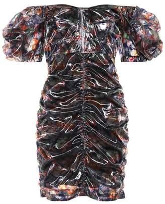 Isabel Marant Oxalis Hawaiian minidress
