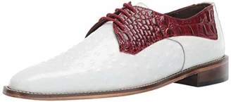 Stacy Adams Men's Russo Ostrich Print Lace-Up Oxford