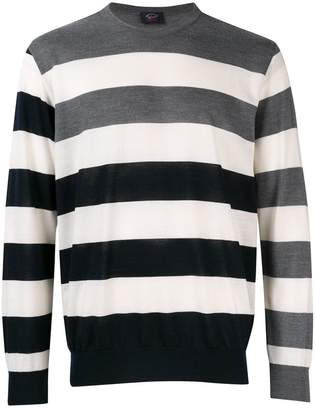 Paul & Shark contrast striped sweater