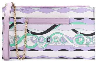 Emilio Pucci La Villa Print Medium Envelope Clutch