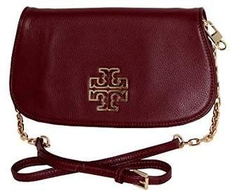 Tory Burch Britten Clutch Leather Crossbody Bag Tote 39055