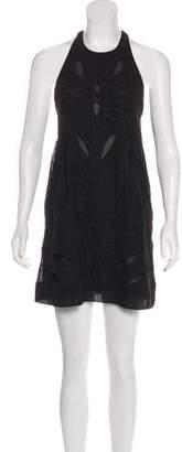 IRO Sleeveless Embroidered Dress