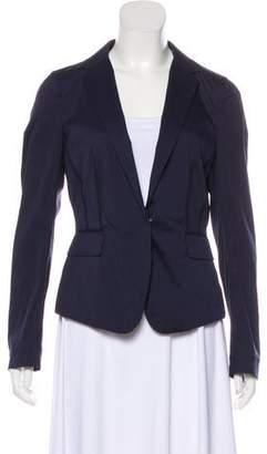 Mantu Peak-Lapel Long Sleeve Jacket