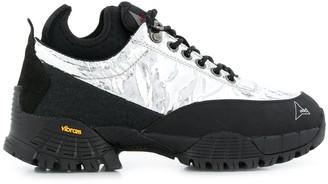 ROA metallic hiking boots