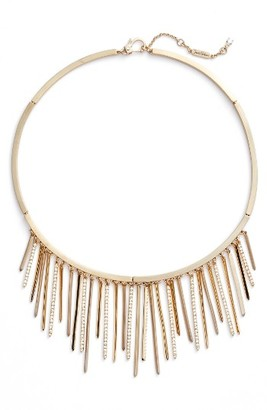 Women's Jenny Packham Fringe Frontal Necklace $150 thestylecure.com