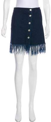 3x1 Denim Mini Skirt
