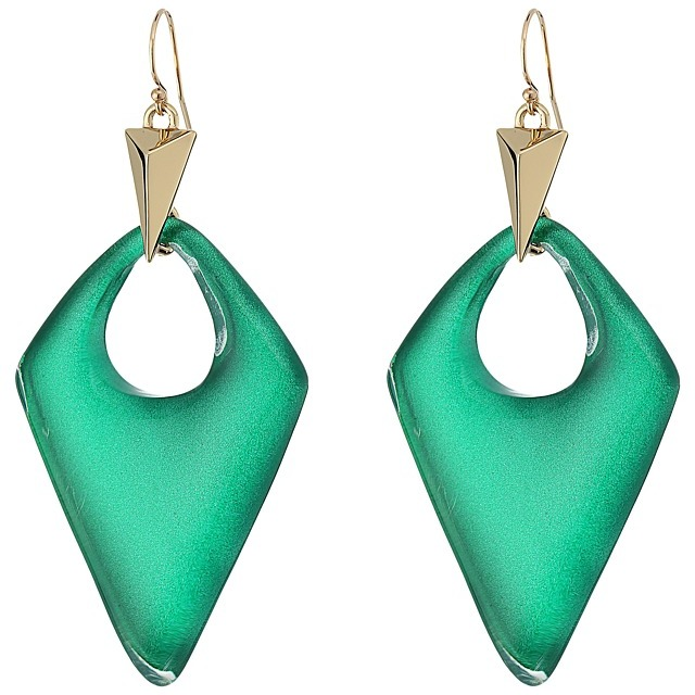 Alexis Bittar Alexis Bittar Pointed Pyramid Drop Earrings