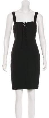 Diane von Furstenberg Scottland Lace-Up Dress