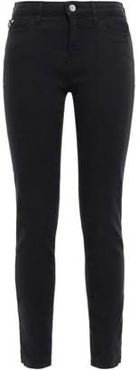 Love Moschino Printed Mid-rise Slim-leg Jeans
