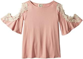People's Project LA Kids Penny Knit Top Girl's Clothing