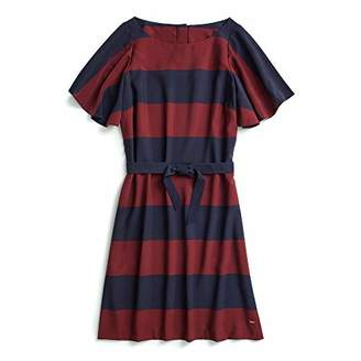 Tommy Hilfiger Adaptive Women's Maxi Dress with Magnetic Buttons