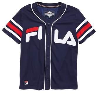Fila Mesh Baseball Jersey