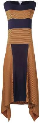Loewe striped midi dress