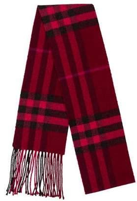 Burberry Nova Check Knit Scarf