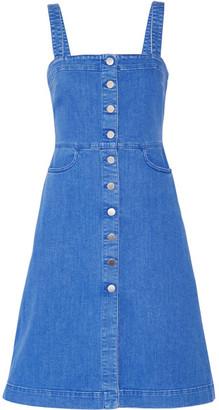 Stella McCartney - Linda Stretch-denim Dress - Mid denim $800 thestylecure.com