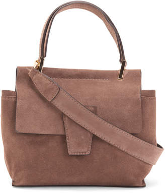 Made In Italy Flap Over Satchel