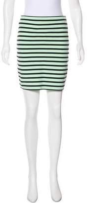 Alexander Wang Striped Bodycon Skirt