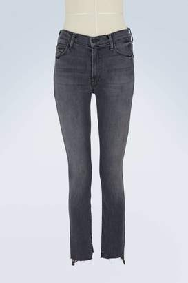 Mother The Zip Stunner high-waisted skinny jeans