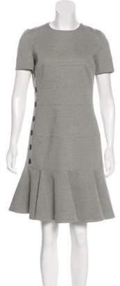 Akris Punto Houndstooth Knee-Length Dress