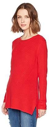 525 America Women's Shaker Hi/Lo 100% Cotton Tunic